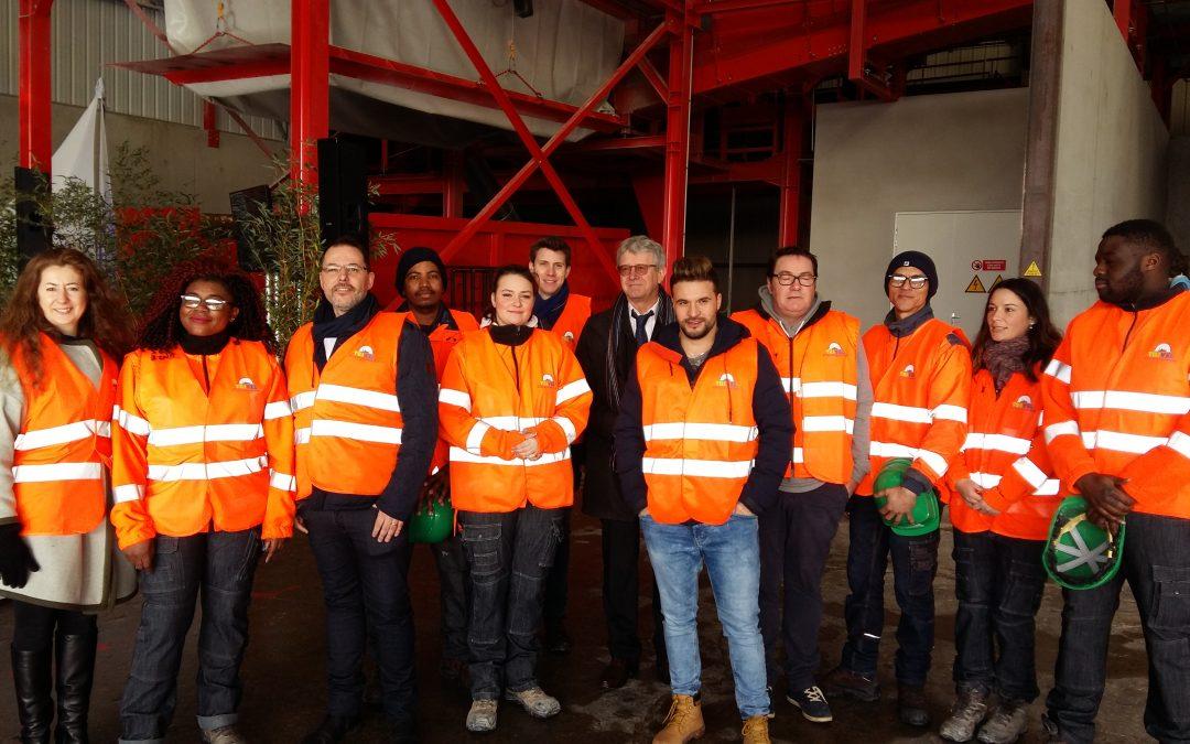 Envie : personnes en visite à Rennes pour le partenariat TRIVEL