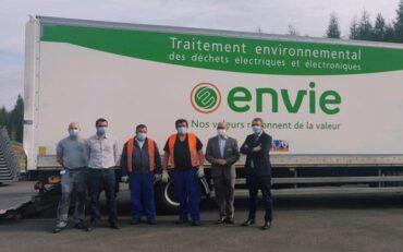 Moselle : Center Parcs fait don de 1 650 téléviseurs à Envie