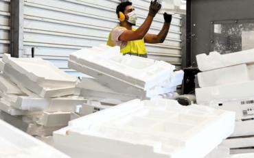 Envie Rhône-Alpes et XPO Logistics redonnent vie au polystyrène