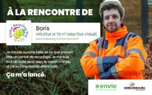 Journée mondiale du recyclage - Rencontre avec Boris