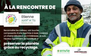 Journée mondiale du recyclage - Rencontre avec Etienne