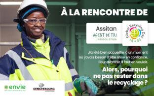 Journée mondiale du recyclage - Rencontre avec Assitan