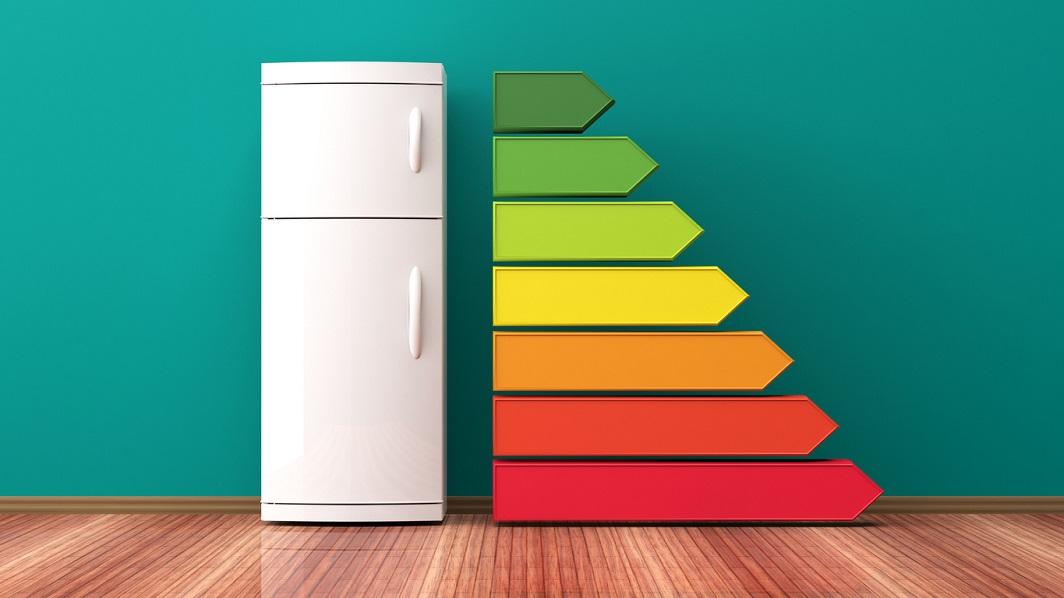 Visuel illustrant les différentes classes des étiquettes énergie, allant de A à G.