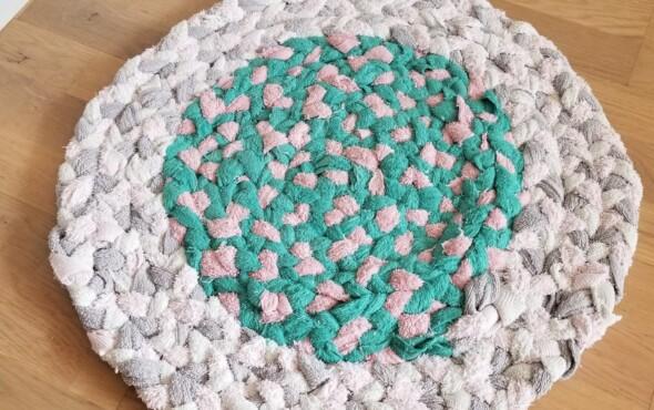 Atelier - Création de tapis en tressage de vêtement 100% récup - Envie Le Labo