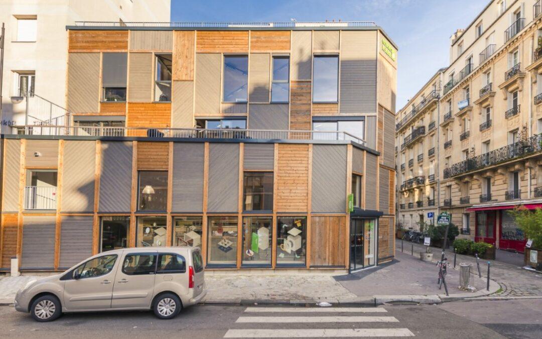 Photo illustrant le bâtiment Envie Le Labo, vu de l'extérieur